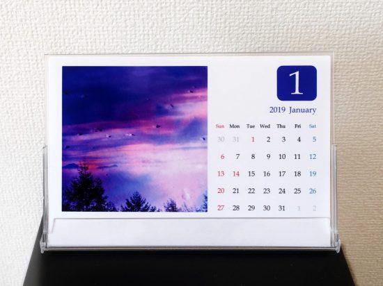【完全受注生産】2019年フォトカレンダー販売いたします